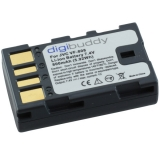 digibuddy Akku kompatibel zu JVC VF-808 Li-Ion