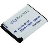 digibuddy Akku kompatibel zu Samsung EA-BP70A Li-Ion