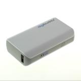digibuddy Powerbank - mobiles Ladegerät mit USB-Anschluss - Li-Ion DB-4410 16,2Wh - weiß