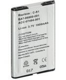 Ersatz-Akku für Blackberry 7100 1000mAh LiIon