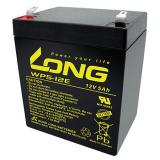Kung Long Blei-Gel-Akku WP5-12E, 12 V, 5,0 Ah, zyklenfest