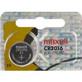 Maxell Lithium-Knopfzelle CR2016