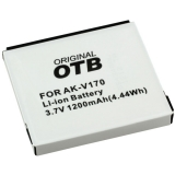 OTB Akku kompatibel zu Emporia AK-V170 Li-Ion