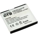 OTB Akku kompatibel zu HTC Touch HD (BA S340) Li-Polymer
