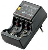 Steckerlader für NiCD/NiMH mit Batterietester LG3288GS