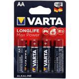Varta Longlife Max Power 4706 Mignon AA, 4er Pack